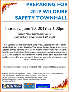 Fire Safety Townhall Meeting 6.20.2019 FINAL