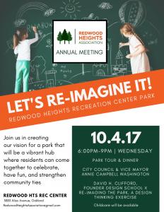 RHA Annual Meeting Flyer